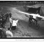 Bénédiction d'un aéroplane en temps de guerre